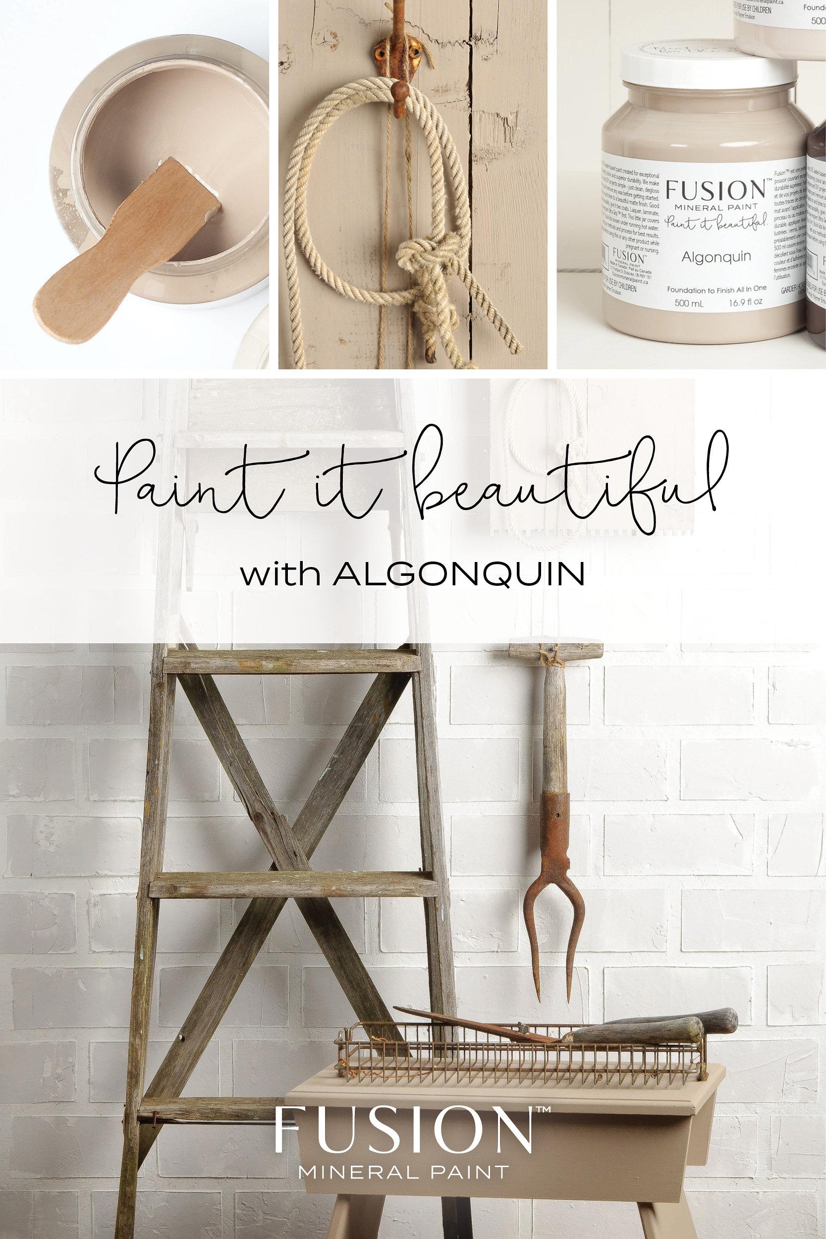 Algonquin geschilderde items