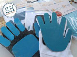 Sandi - Hands schuurpapier