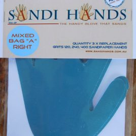 Gemengd vervangpakket A Sandi Hands schuurpapier