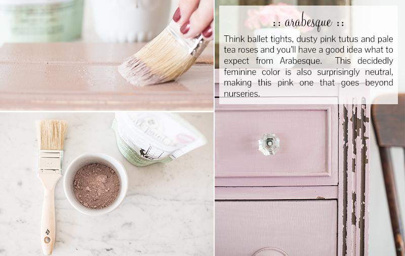 Milk Paint Arabesque