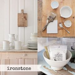 Milk Paint Ironstone