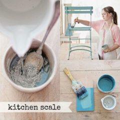 Milk Paint Kitchen scale