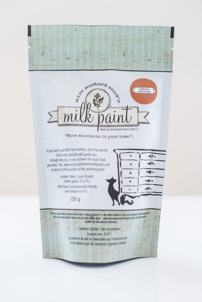 Milk Paint bag Outback Petticoat