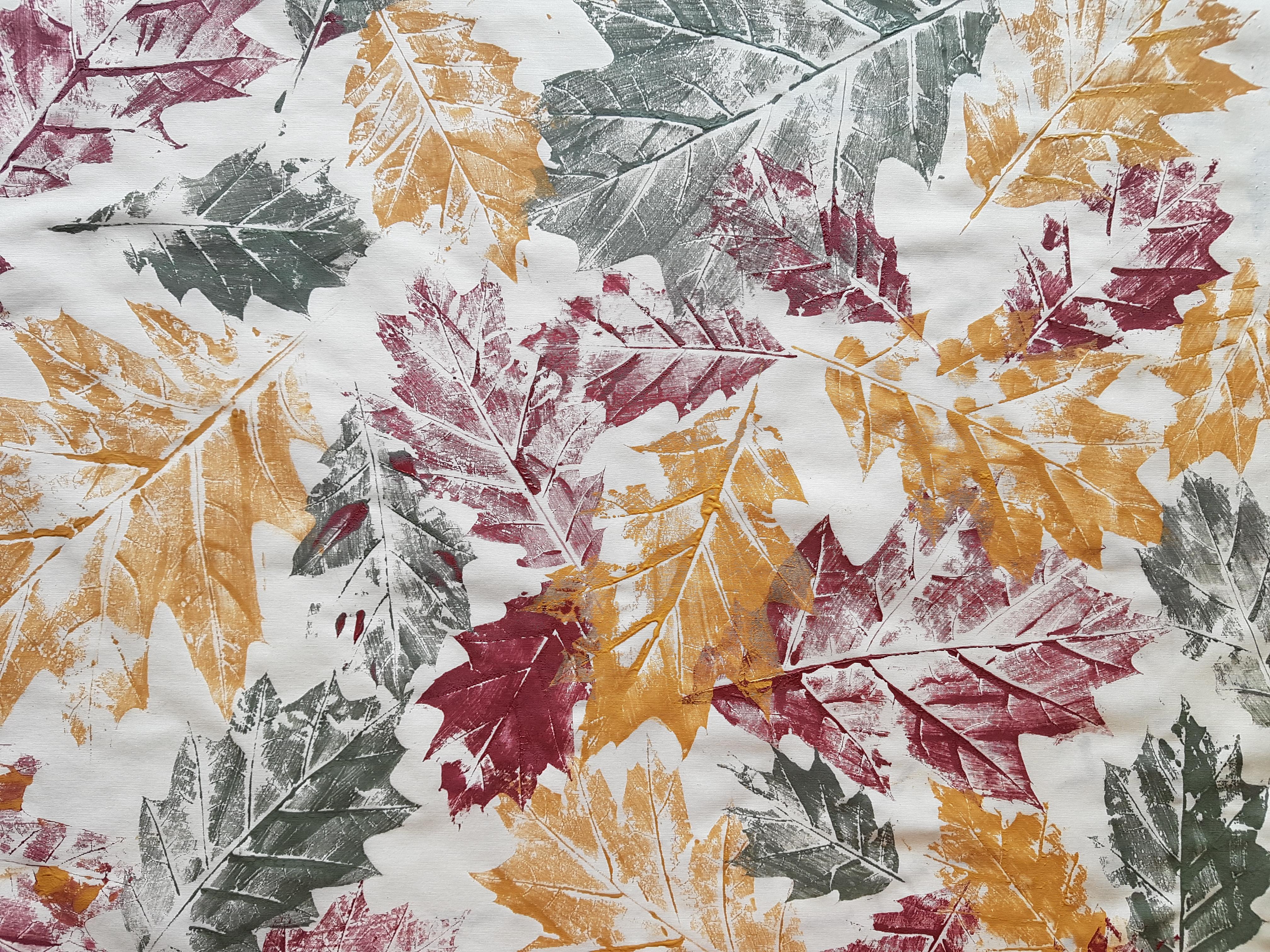 Herfstbladeren print