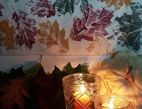 D.H.Z Herfstbladeren decoratie