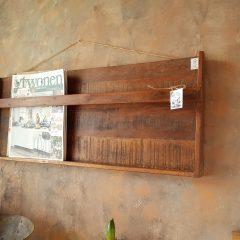 FSC keurmerk houten magazine rek