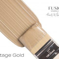 Vintage gold verf