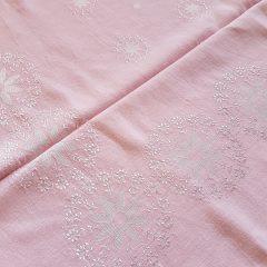 tafellinnen pastel roze