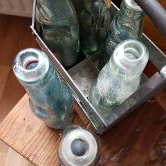 Oude soda flesjes