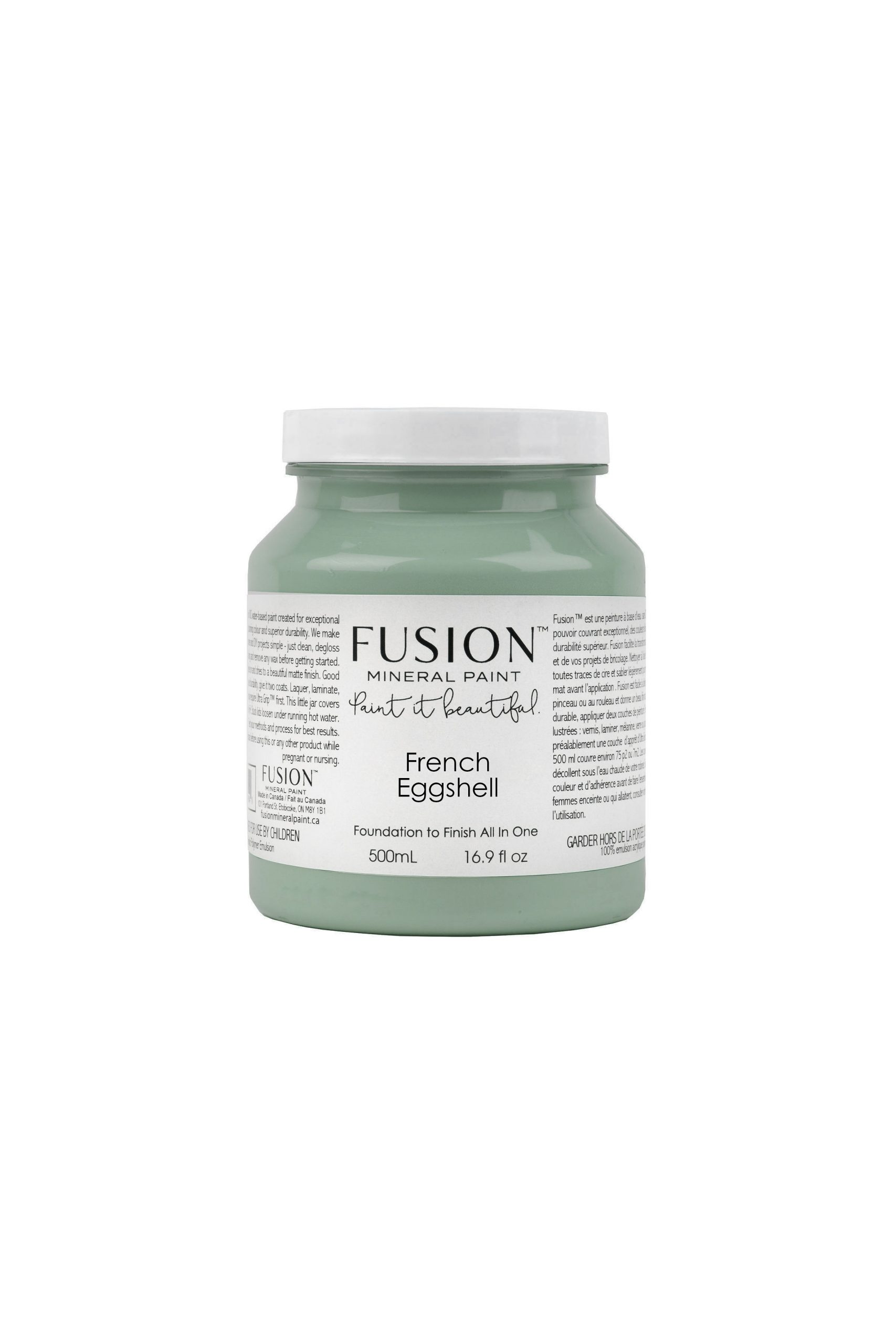 frensch eggshell fusion pint