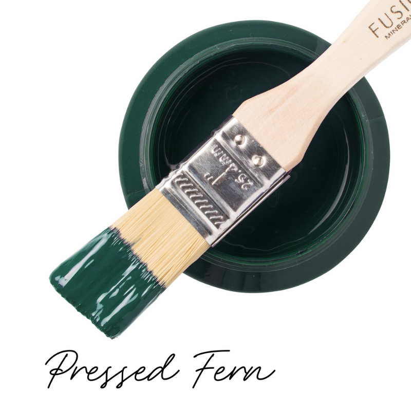 Fusion paint pressed fern