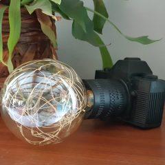 Stike a pose Lamp Camera
