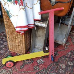 vintage step gekleurd