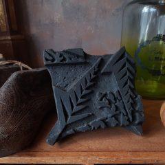 Oude batik stempel medium