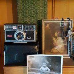 decoratieve vintage fotocamera