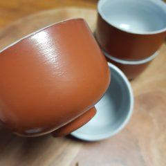 brocante kommetjes aardewerk