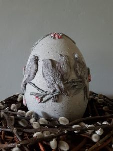 paasei met avian love mould
